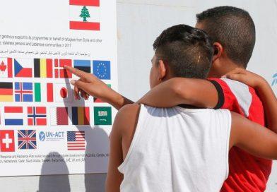 Réinstallation en Belgique de réfugiés syriens du Liban